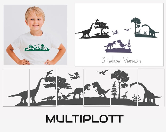 DINO MULTIPLOTT Complete Set, from Tea Light to Wall Tattoo, all in one package