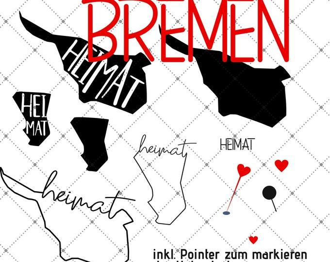 HEIMAT - Bremen - 3 motives Federal states