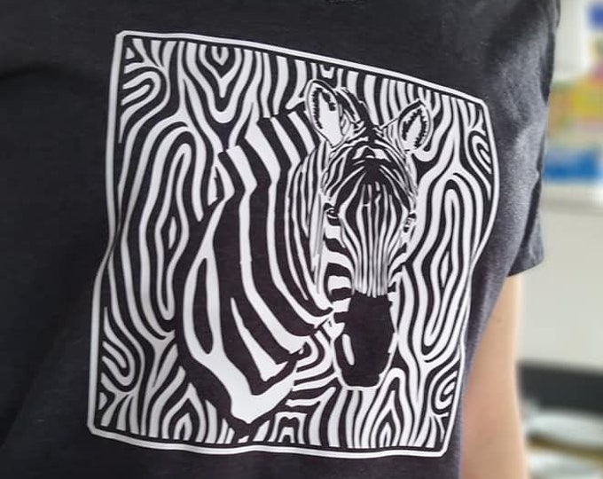 ZEBRA Pattern Version 2 Versions for Light and Dark Fabric 1 and 2 Colored