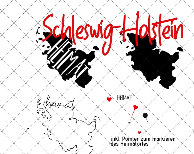 HEIMAT - Schleswig-Holstein - 3 motives Federal states