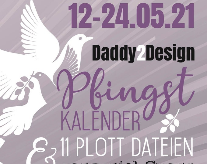 Daddy2Design PfingstKalender 11  Dateien