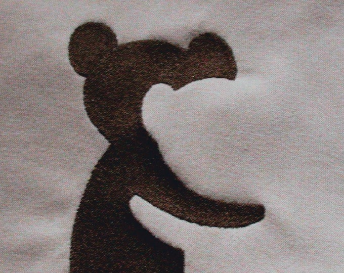 Shadow Illusions Embroidery File - TEDDYs - 10x10 18x13