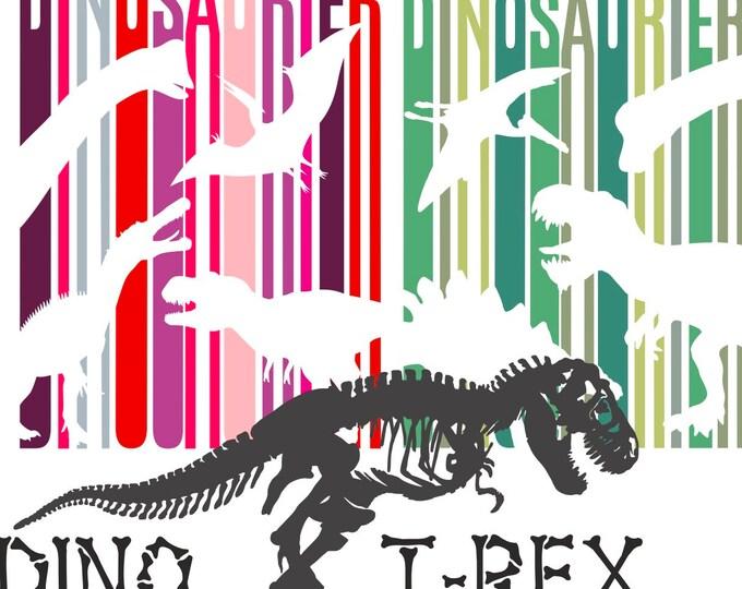 DINO SET Skeleton DINO Lines 1 and Dino Lines 2