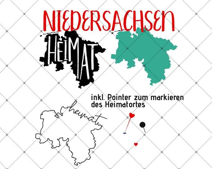 HEIMAT - NIEDERSACHSEN - 3 motives