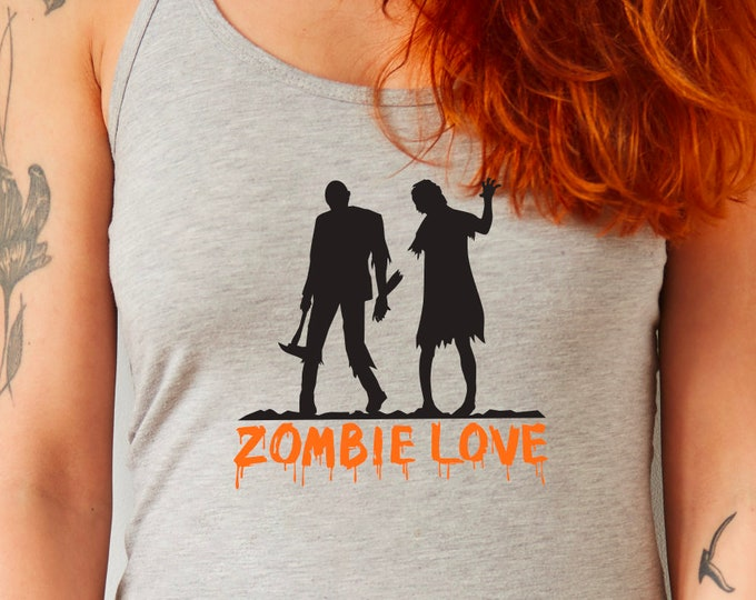 ZOMBIE LOVE funny creepy zombie motif