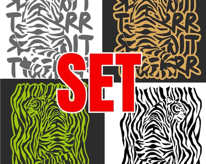 TIGER SET All 2 / 4 versions