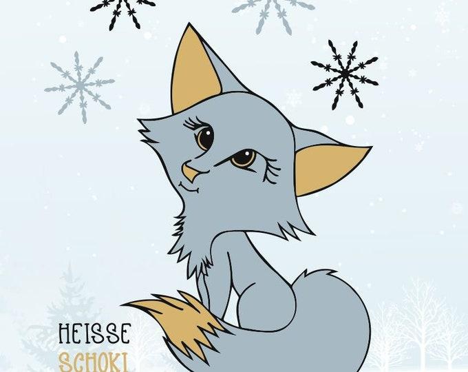 LEILA - The Hot Schoki Polar Fox - Autumn / Winter and Halloween Edition
