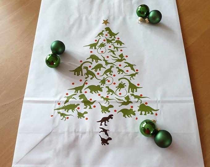 DINO CHRISTMAS CHRISTMAS - the cool Christmas motif for DINO fans