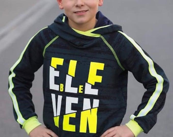 ELF ELEVEN 11 the cool birthday motif