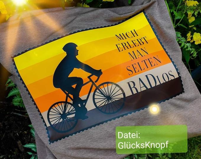 RADlos SET slide file+card of GlücksKnopf