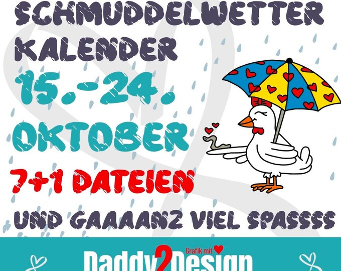 Herbstkalender 2 - Schmuddelwetterkalender