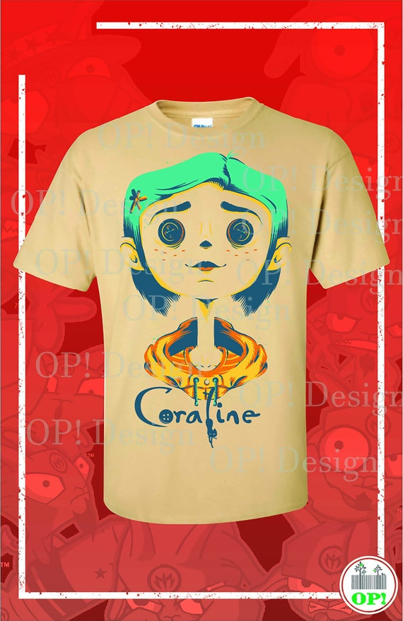 Coraline Svg Eps Vector Tshirt Plotter Etsy