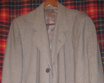 Clipper Craft wool overcoat from the 1950s