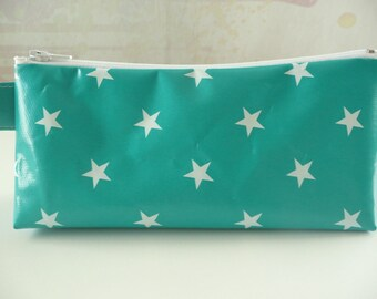 Kit trendy Turquoise with white stars