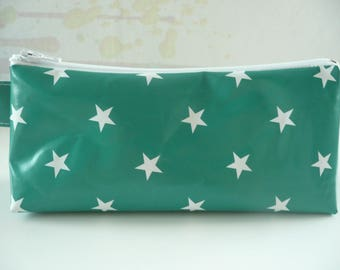 Kit trendy green with white stars