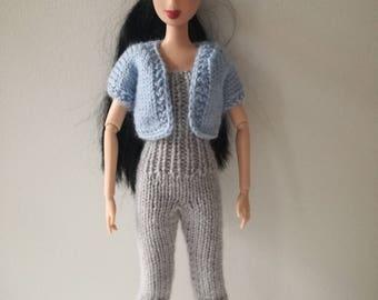 Combi + doll Cardigan