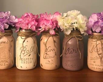 Items Similar To Mason Jar Lanterns Henna Lanterns Henna Mason