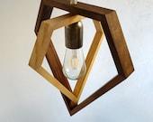 Pendant lamp - table lamp - chandelier - hanging lamp - light fixture - wooden lamp - living room lighting - bedroom light - foyer lamp