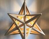 johannes kepler - mysterium cosmographicum - Kepler solid - hanging lamp - dining room light - pendant light