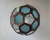 chandelier - hanging lamp - pendant lamp - light fixture - wooden lamp - living room lighting - bedroom light - foyer lamp - kitchen light -