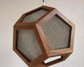 spot light - directional light - contemporary lamp - modern lighting - handmade - customizable - natural wood - pendant light - chandelier
