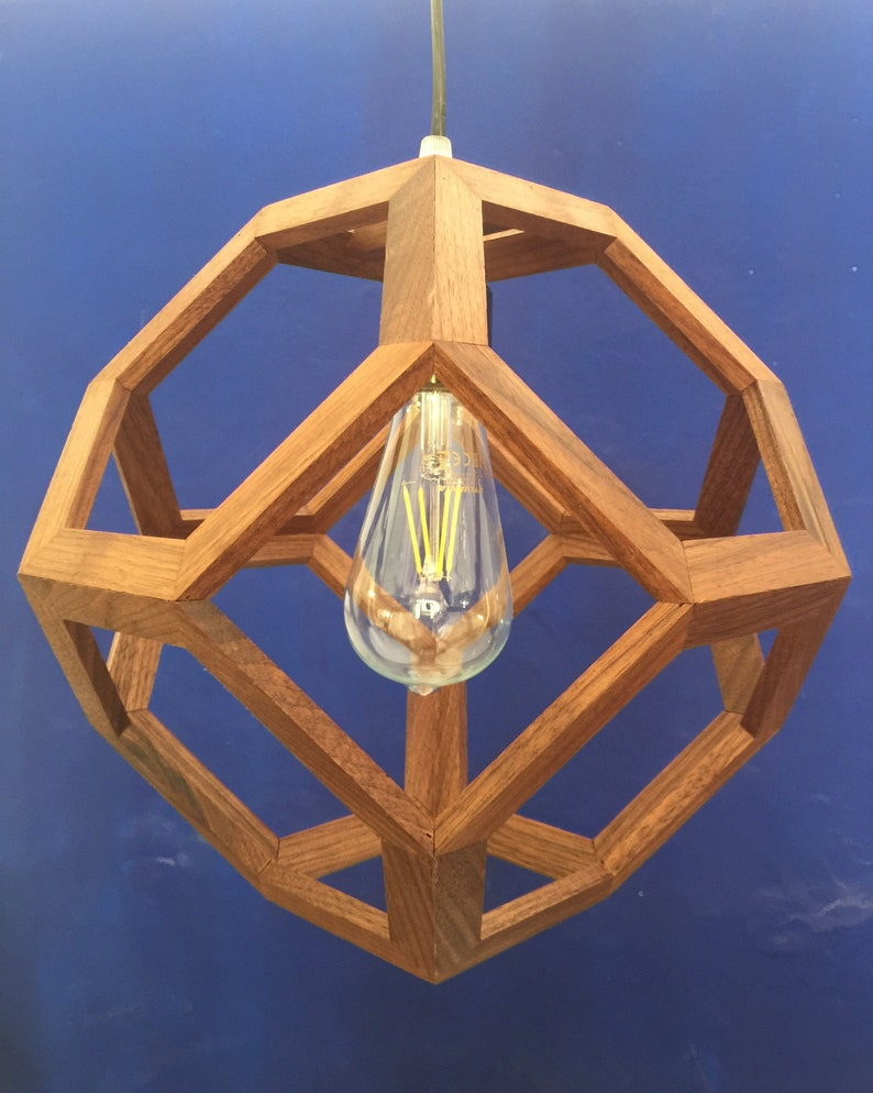 Octahedron lamp 2