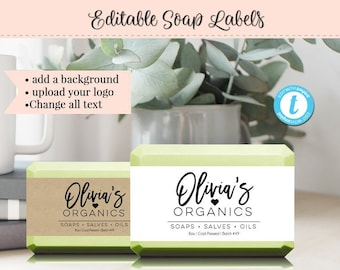 soap label template etsy