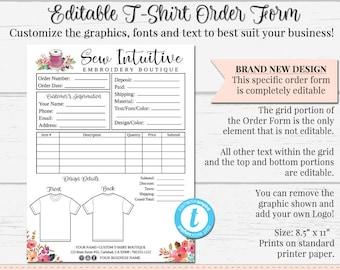 Custom Order Form | Custom Order Form Etsy