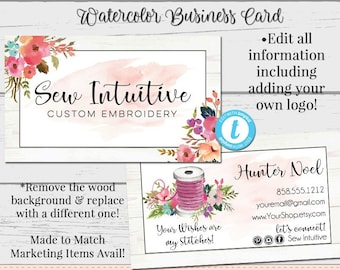 Sewing Business Card Etsy