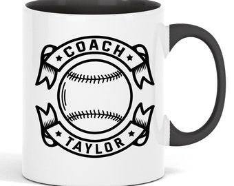 Softball Coach Mugs Etsy