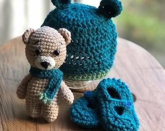 Mützen Socken Set Fürs Baby Etsy