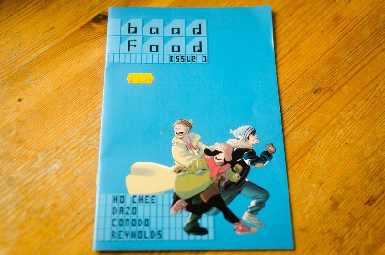 Comic Book  BaadFood 1  Sci-Fi Indie Series w Robots image 0