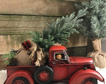 Christmas Tree Truck Etsy