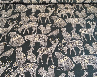 Cotton fabric by the meter Collection Dashwood - sales / promos