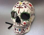 Halloween Skeleton mask for Men Boys Dia De Los Muertos Painted Sugar skull Mask