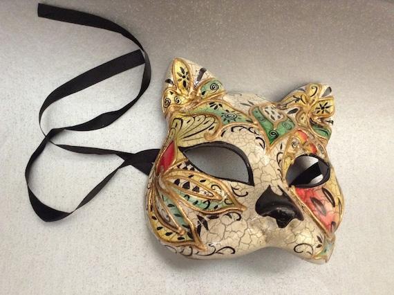 Couples Masquerade Ball Mask Pair Christmas New Year Costume Party Kitty Phantom