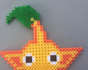 Items Similar To Jibanyan Perler Art 8 Bit Pixel Art Yo