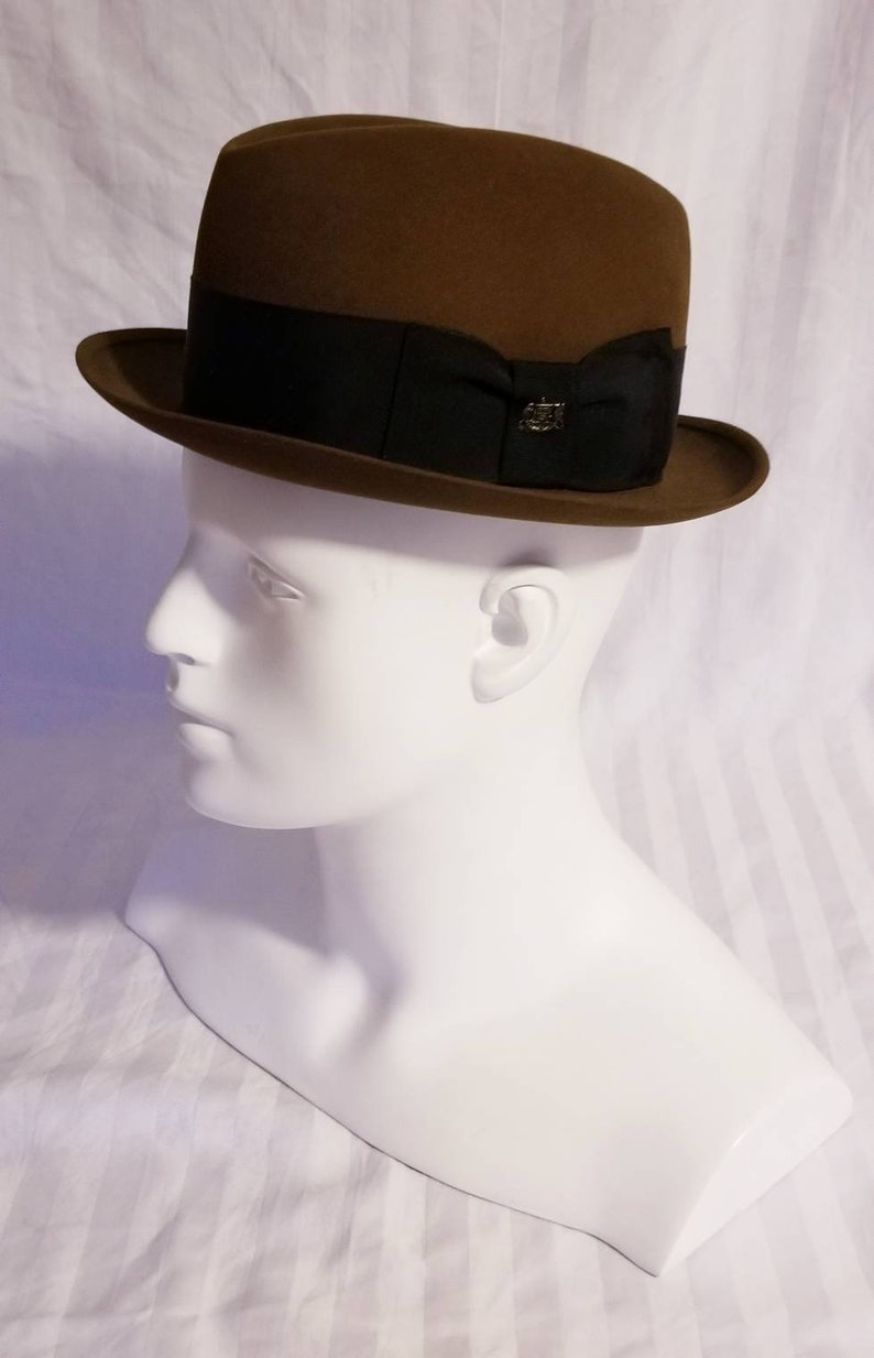 ad76a547f3f Stetson Brown Authentic Vintage Fedora