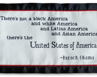 President Obama Quote - PATTERN ONLY