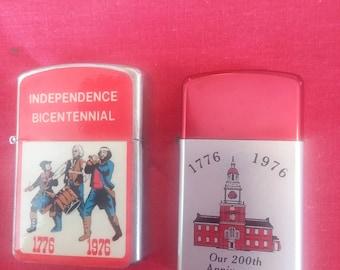 2 vintage  lighters
