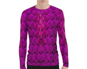 Done by Dom Purple Snake Eyes Unisex Cotton Long Sleeve T-Shirt