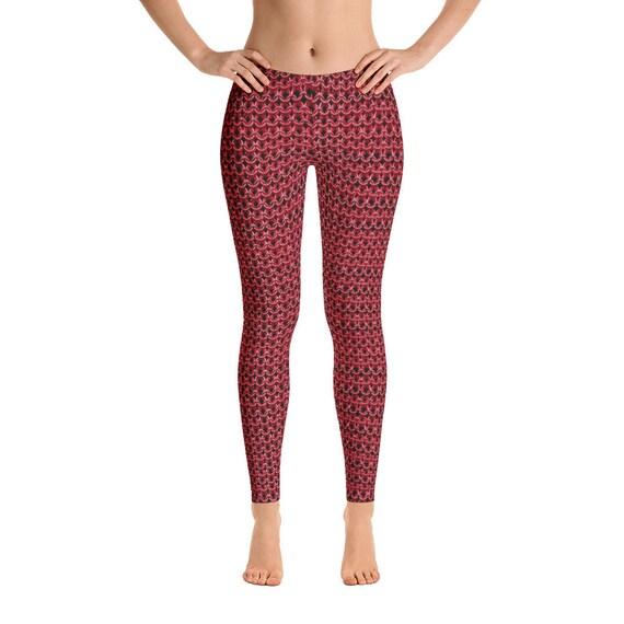 dd7441e3a582b7 Crimson Guard Amazon Fantasy Chainmail Costume Leggings | Etsy