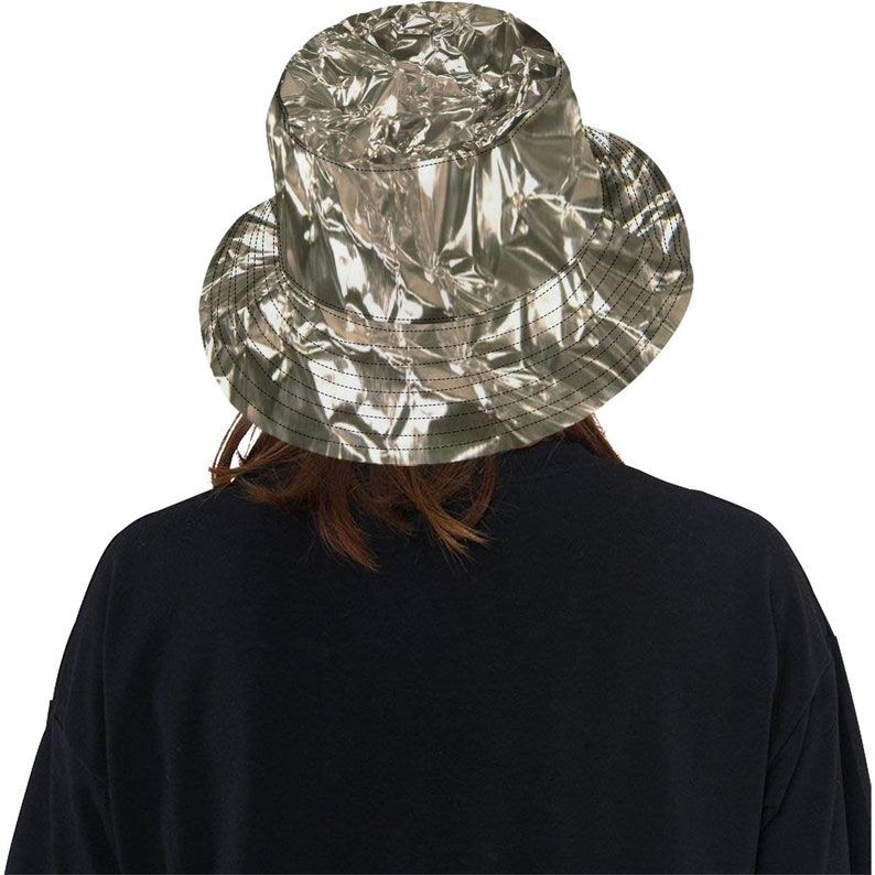 f9e545648e9 Tinfoil Hat Funny Costume Bucket Boonie Hat