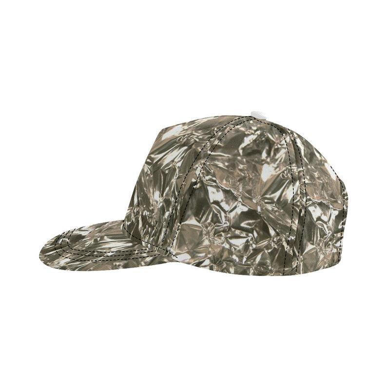 1782b64f344 Tin Foil Hat Funny Costume Snapback Cap
