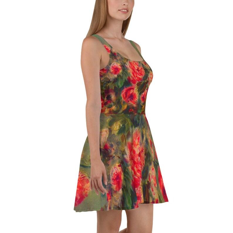 Renoir\u2019s Rosen von Vargemont Impressionist Art Skater Dress