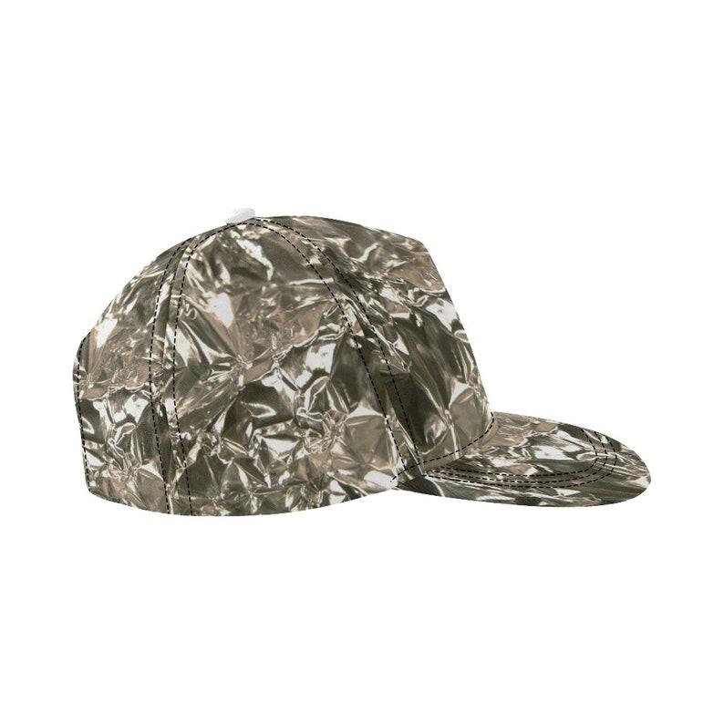 621b59ab4a066 Tin Foil Hat Funny Costume Snapback Cap