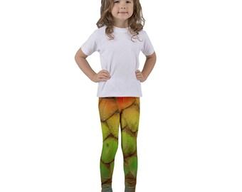 Rainbow Dragon Mermaid Fantasy Kid's Costume Tights Pants