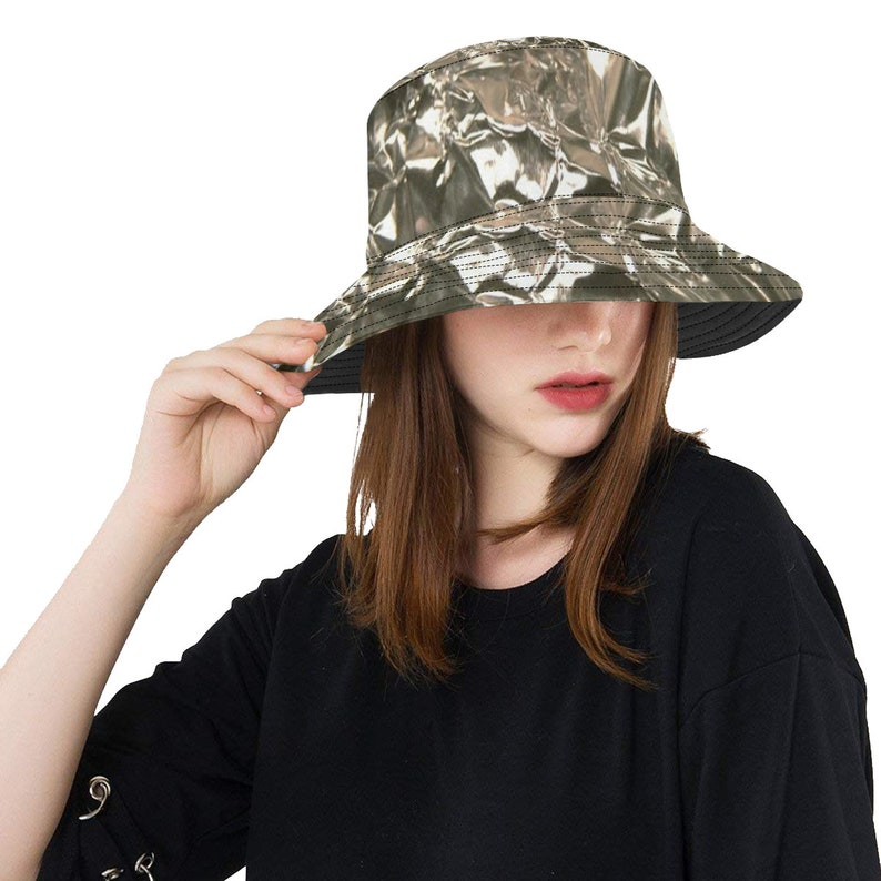 Tinfoil Hat Funny Costume Bucket Boonie Hat  059a8d21d6e