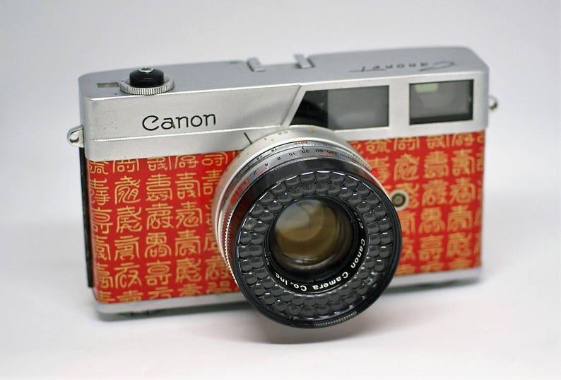 Canon canonet 60 vintage entfernungsmesser 35mm film kamera etsy