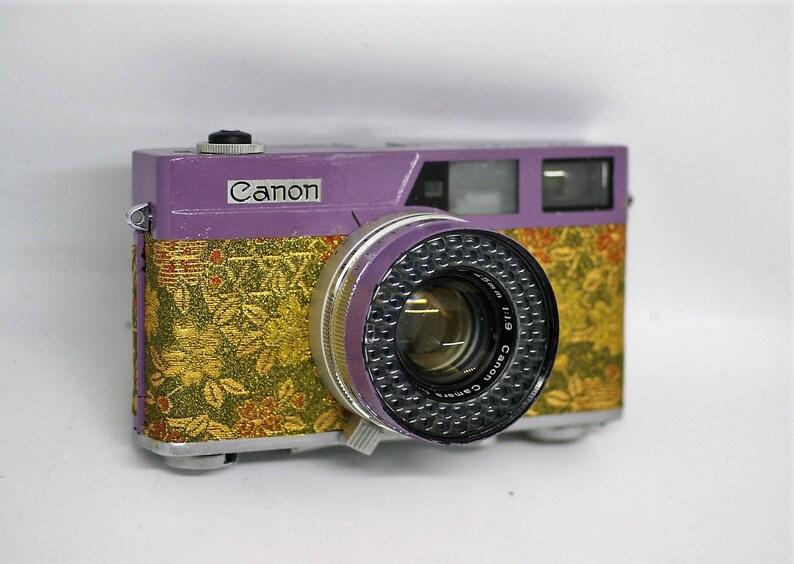 Canon canonet 60er jahre vintage entfernungsmesser 35 mm etsy